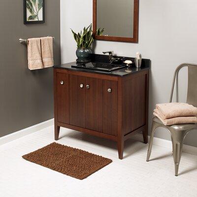 Sophie 36 Bathroom Vanity Cabinet Base in American Walnut