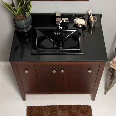TechStone? 37 Single Bathroom Vanity Top