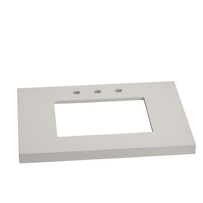 TechStone WideAppeal 31 Single Bathroom Vanity Top