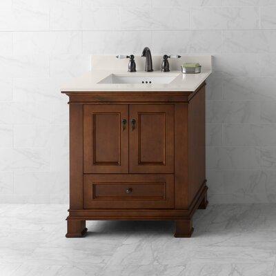 Venice 30 Bathroom Vanity Cabinet Base in Colonial Cherry