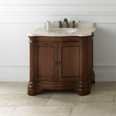 Le Manns 36 Bathroom Vanity Cabinet Base in Colonial Cherry