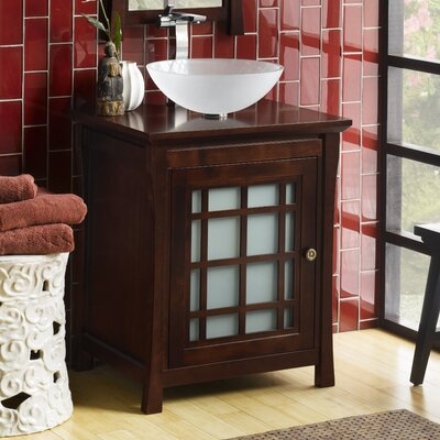 Shoji 25 Single Bathroom Vanity Cabinet Base