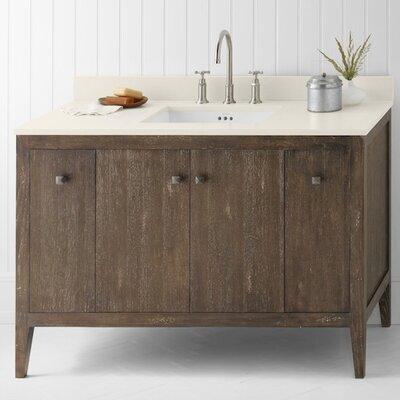 Sophie 48 Bathroom Vanity Cabinet Base in Vintage Caf�