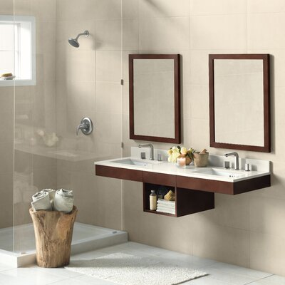 Adina 61 Double Wall Mount Bathroom Vanity Set