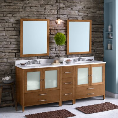 Juno 72 Double Bathroom Vanity Set
