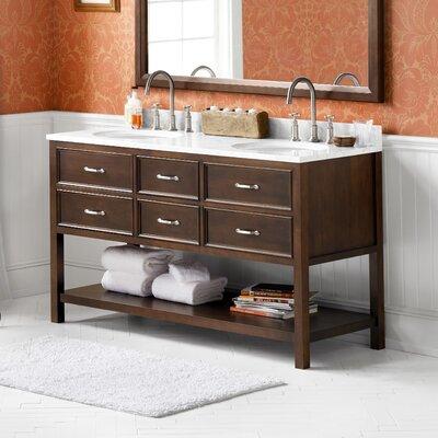 Newcastle 60 Double Bathroom Vanity Set