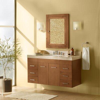Bella 35 Single Wall Mount Bathroom Vanity Set with Mirror