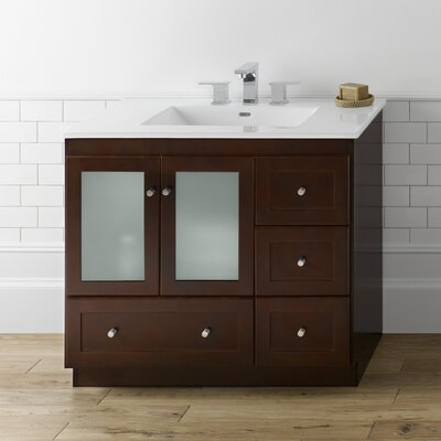 Shaker 37 Single Bathroom Vanity Set