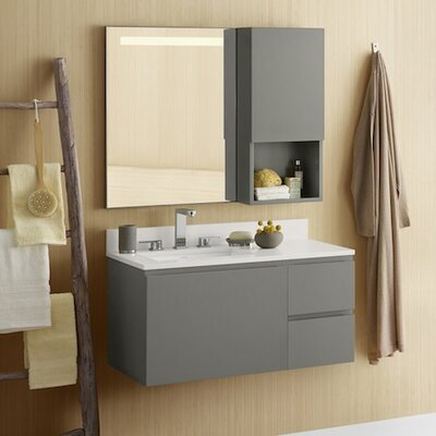 Ariella 35 Single Wall Mount Bathroom Vanity Set