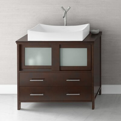 Minerva 36 Single Bathroom Vanity Set