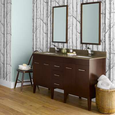 Venus 58 Double Bathroom Vanity Set