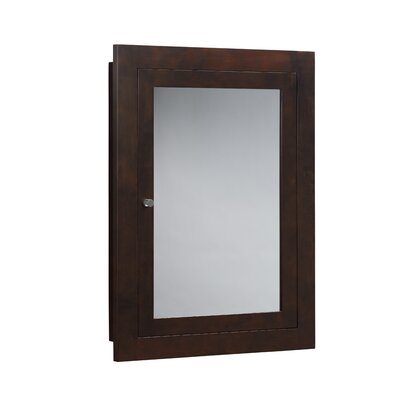 Raine 24.44 x 32.44 Recessed or Surface Mount Medicine Cabinet