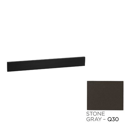 TechStone� 37 x 3  Backsplash in Stone Gray