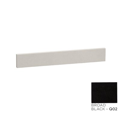TechStone� 25 x 3  Backsplash in Broad Black