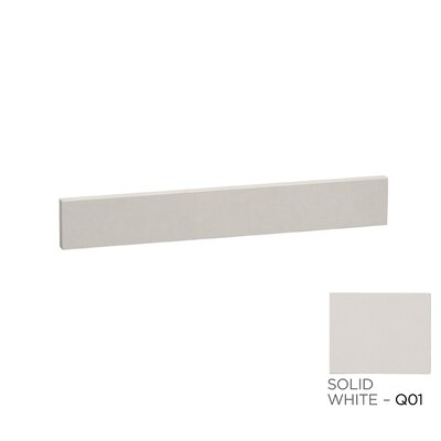 TechStone� 25 x 3  Backsplash in Solid White