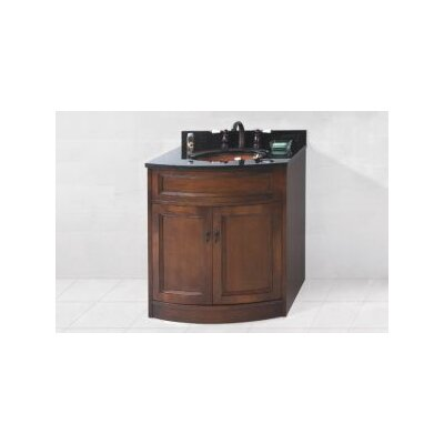 Marcello 24 Bathroom Vanity Cabinet Base in Colonial Cherry