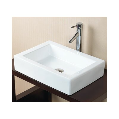 Format Rectangle Vessel Bathroom Sink