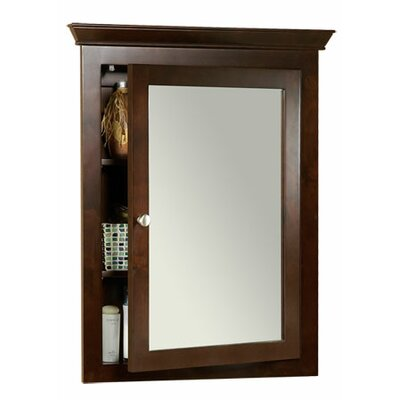 Transitional 26.63 x 34.75 Recessed or Surface Mount Medicine Cabinet