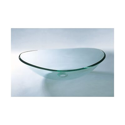 Boat Vessel Sink with Tempered Glass