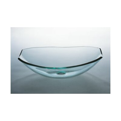 Tael Vessel Sink with Tempered Glass