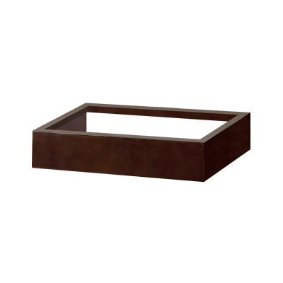 Adina 36 Single Bathroom Vanity Base Finish: Dark Cherry