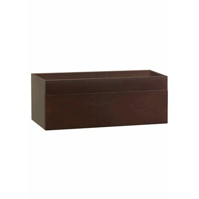 RonBow Rebecca - 31inches Wall mount cabinet w/wood drawer front - Finish: Dark Cherry at Sears.com