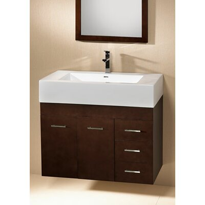 Modular Bella 32 Single Wall Mount Bathroom Vanity Set