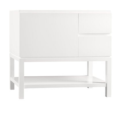 Contempo Chloe Wood Cabinet Blush Taupe Vanity Base