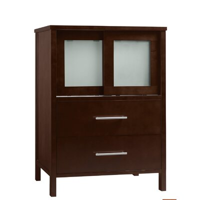 Contempo Minerva Wood Cinnamon Vanity Base