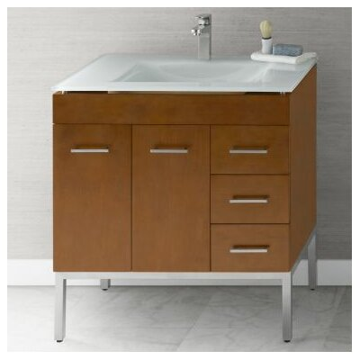 Venus 32 Single Bathroom Vanity Base Base Finish: Cinnamon