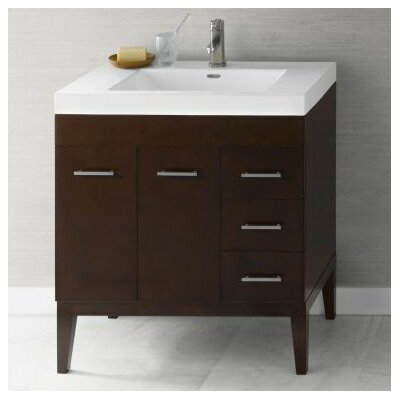 Venus Wood Cabinet Vanity Base Base Finish: Dark Cherry