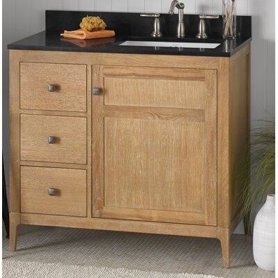 Briella Wood Cabinet Vanity Base Base Finish: Vintage Honey