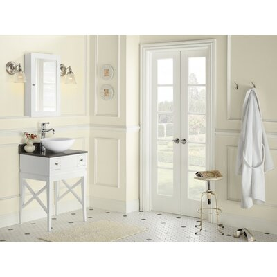 Angelica 23 Bathroom Vanity Set with Mirror