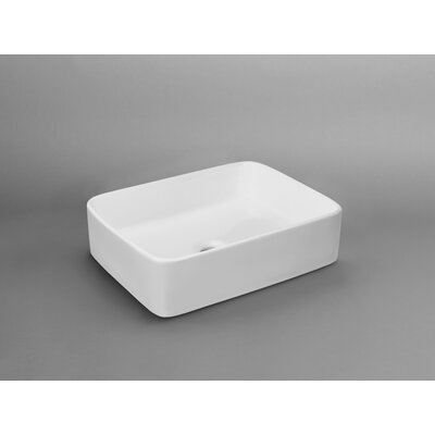 Merit Rectangular Vessel Bathroom Sink