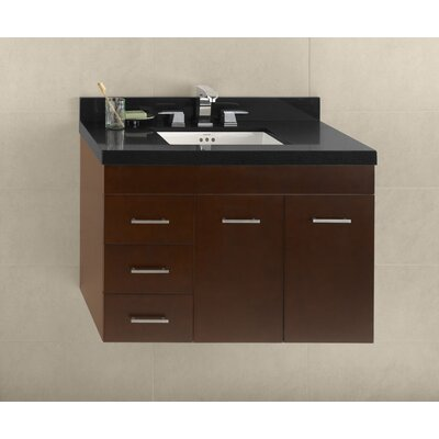36 Bella Wall Mount Bathroom Vanity Base