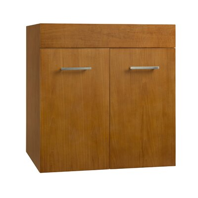 Bella 23.06 Single Bathroom Vanity Base Finish: Cinnamon
