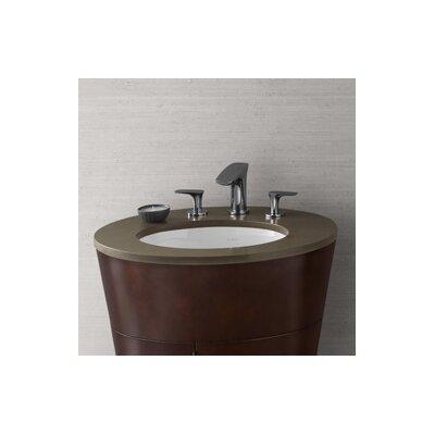 Leonie TechStone 23  Single Bathroom Vanity Top Faucet Mount: 8 Widespread