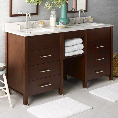 Kali 61 Double Bathroom Vanity Set