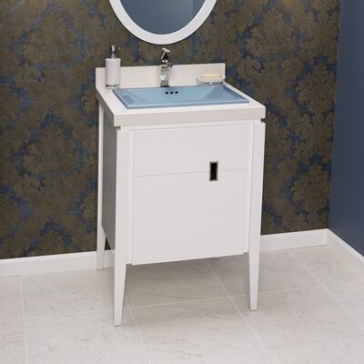 Zoe 24 Single Bathroom Vanity Set