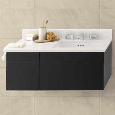 Morrison 23 Wall Mount Bathroom Vanity Base Cabinet in Black