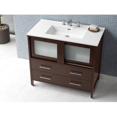 Minerva 36 Single Bathroom Vanity Set