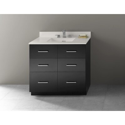Lassen 36 Single Bathroom Vanity Set