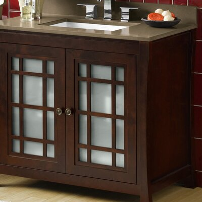 Shoji 36 Single Bathroom Vanity Set