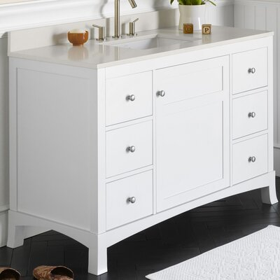 Hampton 48 Single Bathroom Vanity Set