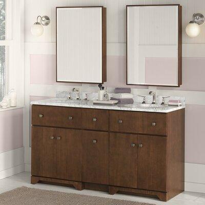 Amberlyn 24 Double Bathroom Vanity Set with Mirror