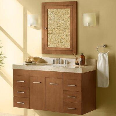 Bella 47 Single Bathroom Vanity Set with Mirror