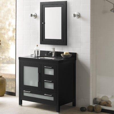 Athena 36 Single Bathroom Vanity Set with Mirror