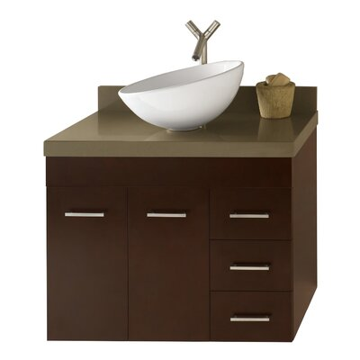 Bella 32 Single Bathroom Vanity Set