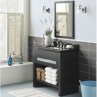 Kendra 36 Single Bathroom Vanity Set with Mirror