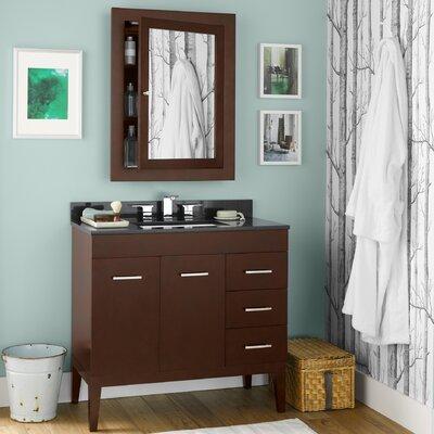 Venus 36 Single Bathroom Vanity Set with Mirror